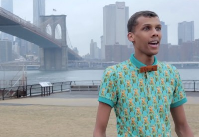 "Stromae Surprises, Confuses New York Pedestrians With ""Papaoutai"" Performances in New Video"
