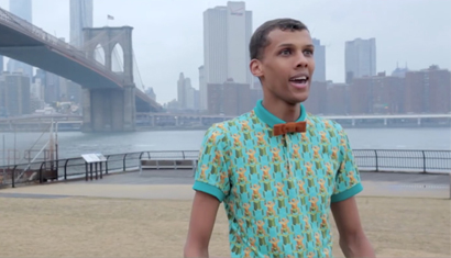 """Papaoutai"" in New York City"