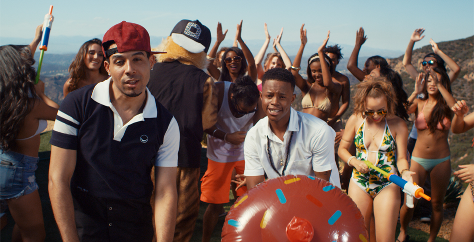 Dawin and Silento Serve Up A Sweet Pool Party in 'Dessert' Video: Premiere