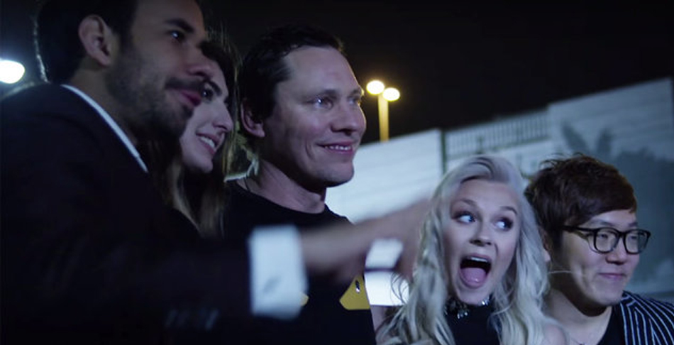 Tiësto Celebrates His Birthday In Vegas In 'On My Way' Video: Watch.