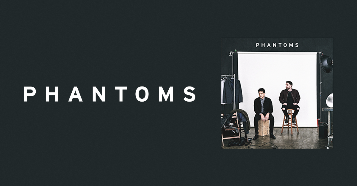Phantoms self- titled debut album available now!